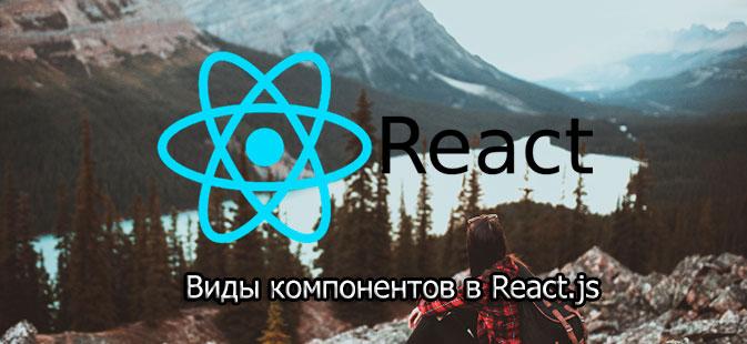 Виды компонентов в React.js